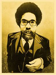cornel west print obey giant