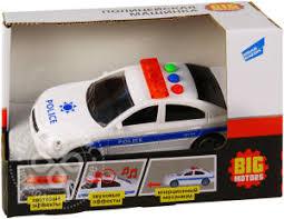 Купить Игрушка инерционная Big Motors Полицейская <b>машина</b> ...