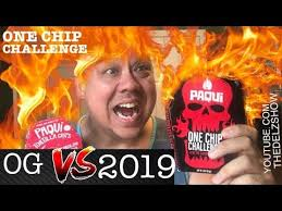 2019 ONE CHIP CHALLENGE BY PAQUI CHIPS! <b>NEW BLACK</b> ...