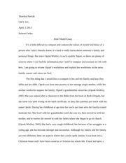 essay role modelcwv   grand canyon university   course hero  pages role model essay