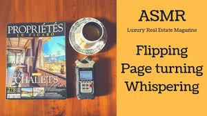 ASMR Flipping through a Magazine [Whispering], АСМР Листаем ...