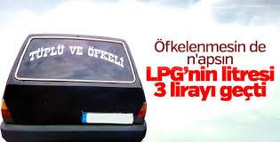 LPG'ye 5 kuruş zam
