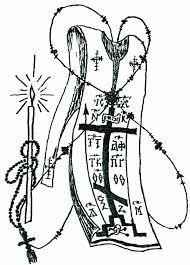 Αποτέλεσμα εικόνας για σκίτσα ο ιερέας ευλογεί τα σπιτικά μας