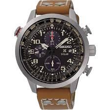seiko men s prospex tan leather solar chronograph watch watches seiko men s prospex tan leather solar chronograph watch ssc421p1