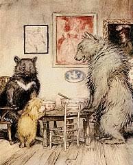 Cachinhos Dourados e os Três Ursos