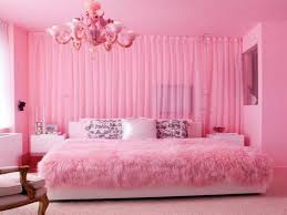 white king size low profile bed in teenage bedroom under pink chandeliers combined with curtain room bed girls teenage bedroom