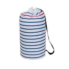 Сумка-рюкзак для белья, bazil в полоску белый/темно-синий <b>La</b> ...