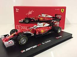 <b>Bburago</b> B18-36804V Ferrari SF16-H <b>Diecast</b> Model Kit, <b>1:43 Scale</b> ...
