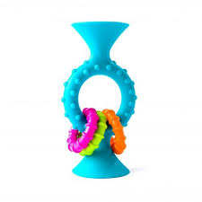 Погремушка-грызунок PipSquigz Loops Teal, <b>Fat Brain</b> Toys ...