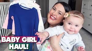 <b>BABY GIRL SPRING</b>/<b>SUMMER</b> CLOTHING HAUL!!! - YouTube