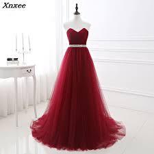 <b>2018</b> Elegant Maxi Dress <b>Women</b> for Wedding Party Burgundy ...