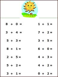 6 Best Images of Addition Simple Printable Math Worksheets ...Free Math Addition Worksheet for Kids