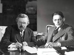 g k chesterton t s eliot friends or enemies the regards to whether one sides eliot or chesterton apparently eliot said this mr chesterton s brain swarms ideas