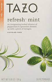Tazo All Natural Herbal Infusion Tea, Refresh Mint, 2 ... - Amazon.com