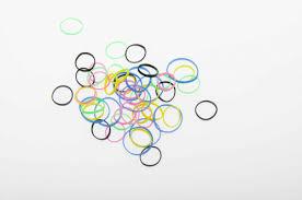<b>Резинки для</b> волос силикон цветные, mix mini (50 шт) <b>DEWAL</b> ...