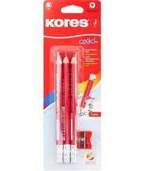 Набор из 3 <b>карандашей чернографитных Kores Jumbo</b>, HB + ...