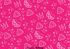 holiday party vector art 7603 s holiday purim pink background pattern