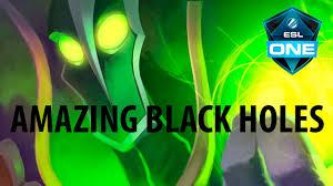 AMAZING <b>Black</b> Holes with Rubick by KingR @ <b>ESL One</b> Manila