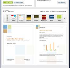 business plan pdf themes and quickbooks import feature has always produced great looking pdf and word documents but we wanted to take things a step further and allow you to customize your pdf export