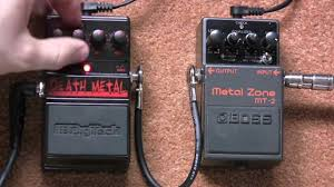 Boss Metal Zone Vs Digitech <b>Death</b> Metal Distortion <b>Pedal</b> Shootout ...