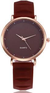 Amazon.com: COOKI <b>Womens</b> Quartz Watch Simple Style <b>Silica</b> Gel ...