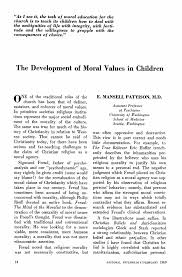 moral and values development adolescent moral development moral character development educational psychology interactive