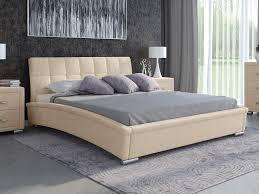 Кровать Corso-1L (Ткань: Рогожка Глазго бежевый) 160x190 ...