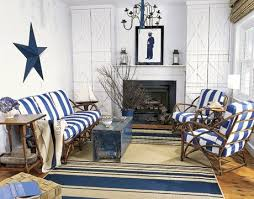 blue and white living room star country liv blue white living room