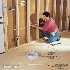 how to rough in electrical wiring   the family handymanhow to rough in electrical wiring