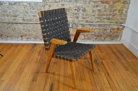 Jens Risom Side Chair Early Mid Century Modern Arm Chair In The Style Of Jens Risom And