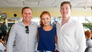 time out in the illawarra social photos queensland country life peter elder louise green and ryan emerson at kembla grange races