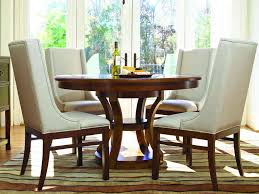 small dining tables sets: wonderful small space round dining room with white upholstered chair furniture sets