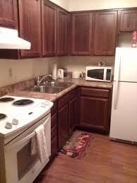 Apt Kitchen Wesley Living Luther Terrace Memphis Tn