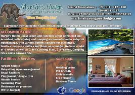 martin s haven guest lodge function venue ads online advertising martin s haven guest lodge function venue