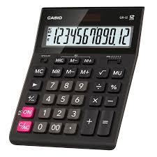 <b>Калькулятор CASIO GR-12</b> • Настольные калькуляторы
