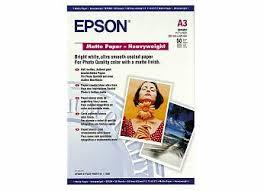 <b>Фотобумага Epson Matte Paper</b>-<b>Heavyweight</b>, A3, 167 г/м2, 50 ...