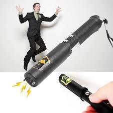 Novelty <b>Creative Trick</b> Toy Electric Shock Batons Stick Flashlight ...