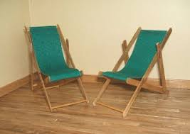 Miniature deck chair tutorial - wish I had <b>seen</b> this before struggling ...