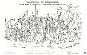landing of columbus architect of the capitol united states capitol the other europeans grouped near columbus