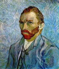 <b>Self Portrait by</b> Vincent Van Gogh