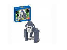<b>Конструктор Block wild animal</b> мягкий, Орангутан, 18 деталей ...