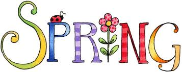 Image result for spring words