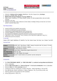 anil bigdata resume
