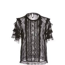 <b>Zuhair Murad</b> Short Sleeve Ruffle Top (51 390 UAH) liked on ...