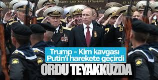 Rusya'da olası ABD- Kuzey Kore savaşı hazırlığı