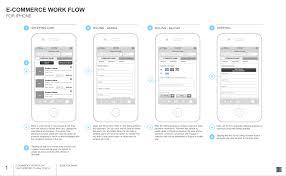 portfolio jesse bob mobile e commerce wireframe 1