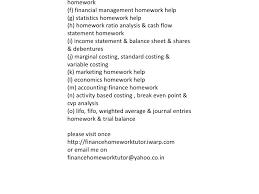 Corporate finance homework help  finance homework Millicent Rogers Museum Finance homework help Essay writing website review Asian Development Bank