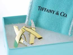 Paloma <b>Picasso</b> for Tiffany & Co Diamond Earrings 18 KYG Sign