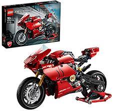 <b>LEGO Technic Ducati Panigale</b> V4 R 42107 Building Kit: Amazon ...