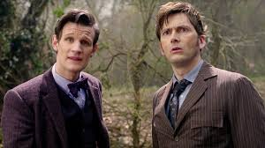 Eleventh <b>Doctor</b> Meets The Tenth <b>Doctor</b> | The Day of the <b>Doctor</b>